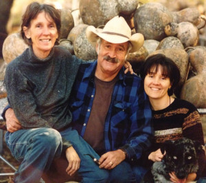 Sue, Doug, and Phoebe 1998