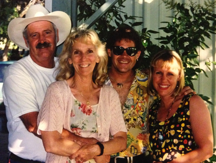 The Third Gourd Festival 1998 Doug, Sue, Mark and Karen Klay